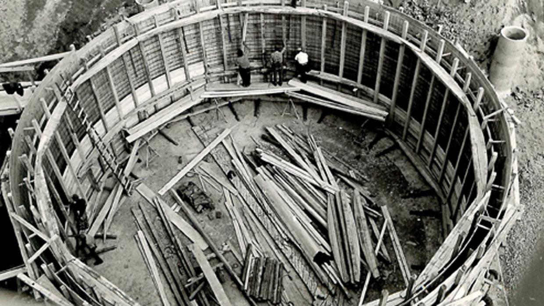 Runde Kammern im Bau