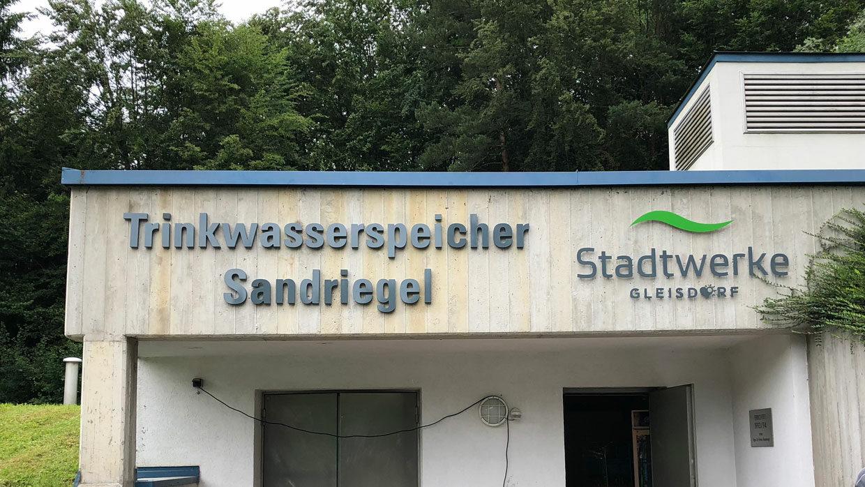 Trinkwasserspeicher Sandriegelweg