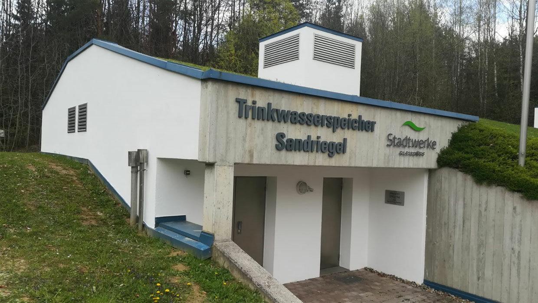 Gebäude Sandriegelweg