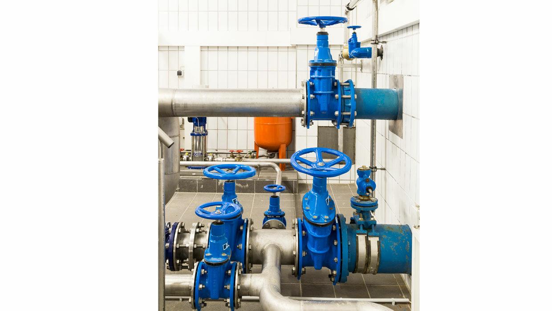 Trinkwasserspeicher Sandriegel Schieberkammer