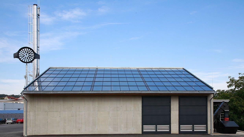 Heizwerk Solare Biowärme