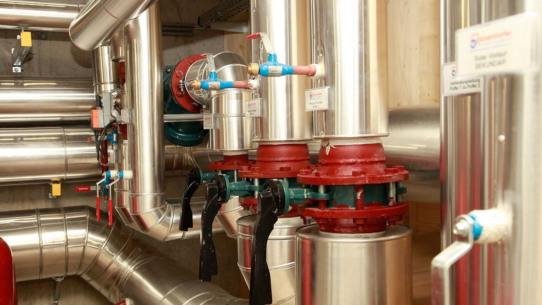 Rohrleitungen zur Wärmeverteilung