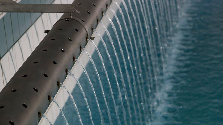 Zulauf Wasserhochbehälter